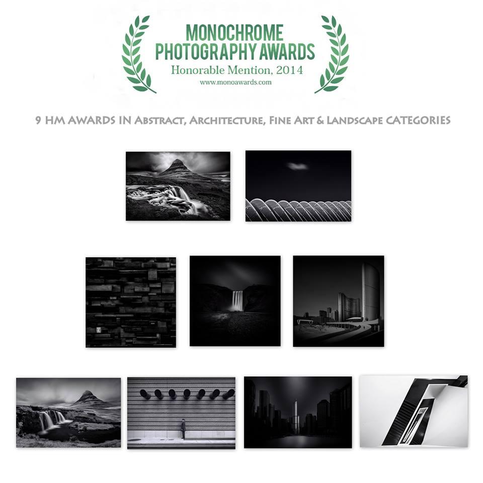 9 HM Awards - Monochrome Awards 2014