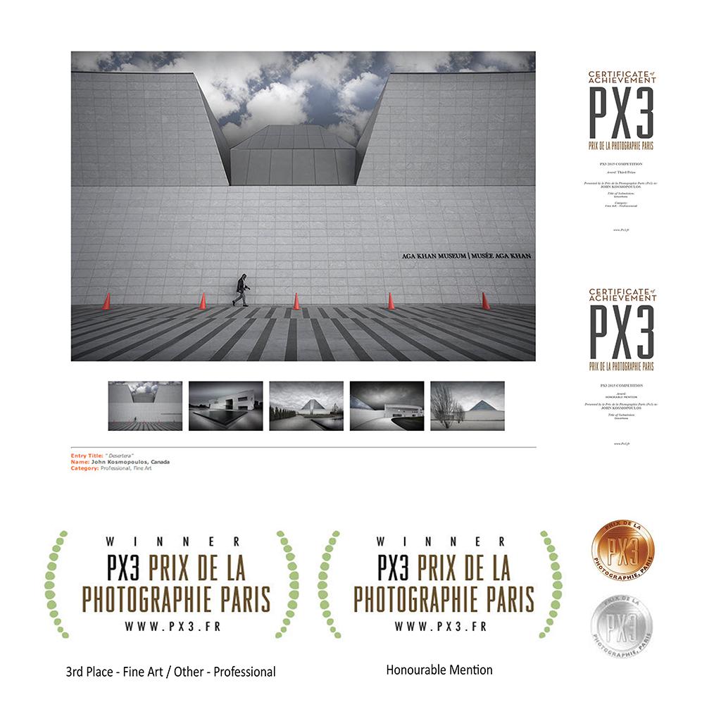 PX3 Paris 2015 - Bronze & HM