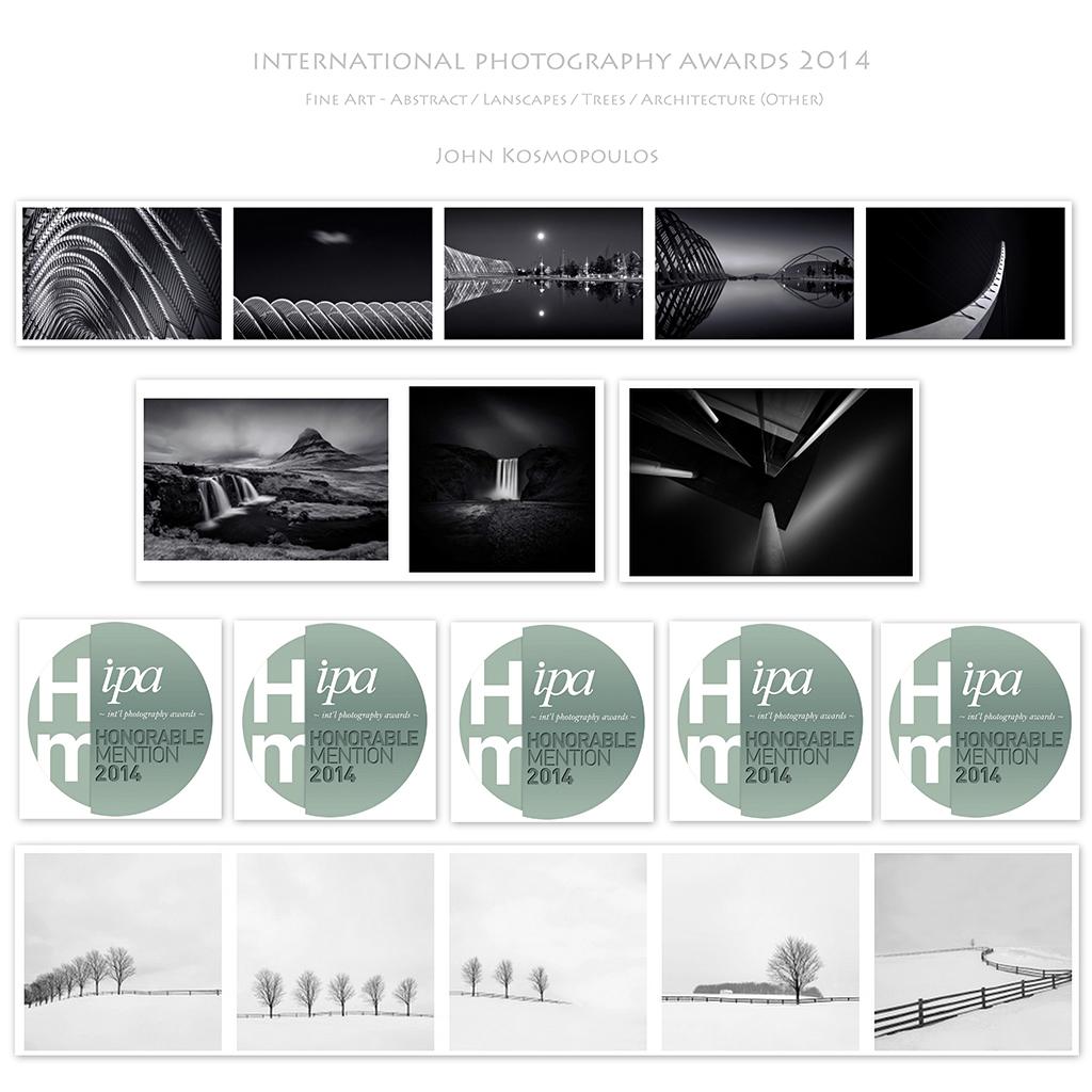 IPA 2014 - 5 HM / 4 Categories