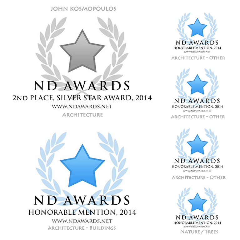 ND Awards 2014 - 1 Silver / 5 HM
