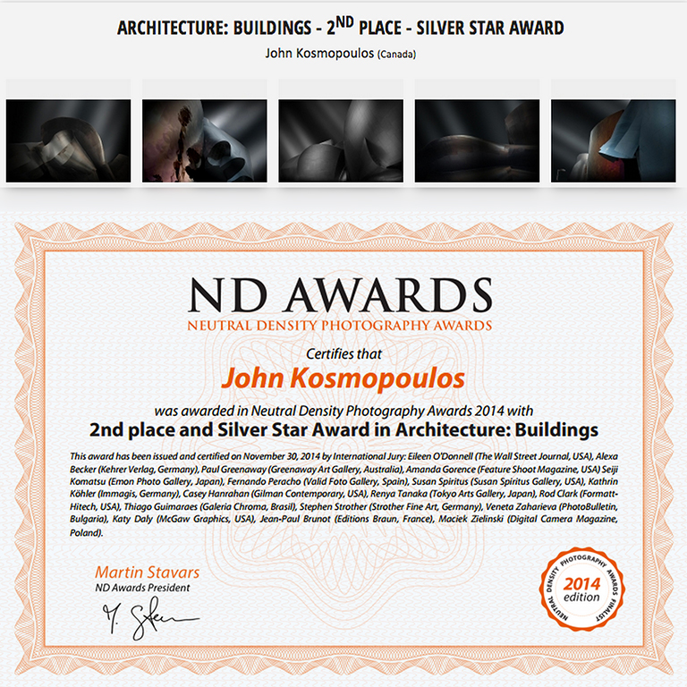 ND Awards - 2nd Place Architecture