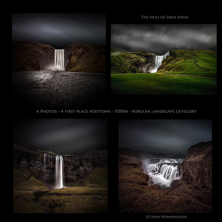 The Veils Of Eden Series - 500px - 4 for 4 - Most Popular Landscape Photographs