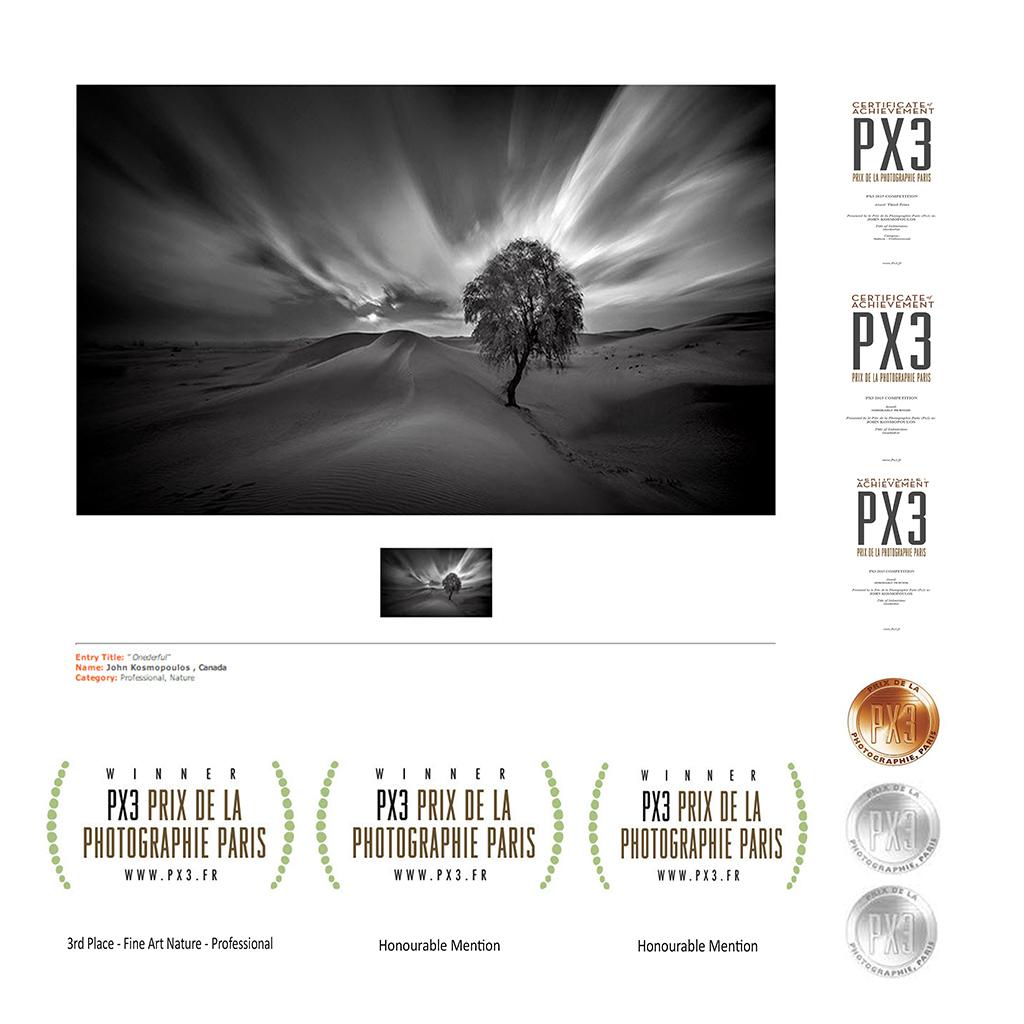 Onderful - PX3 2015 - Winner Seals & Certificates - SZP - JK