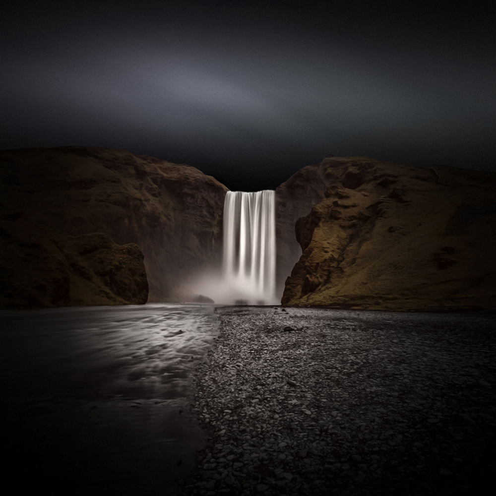 Skogafoss - Colour Version