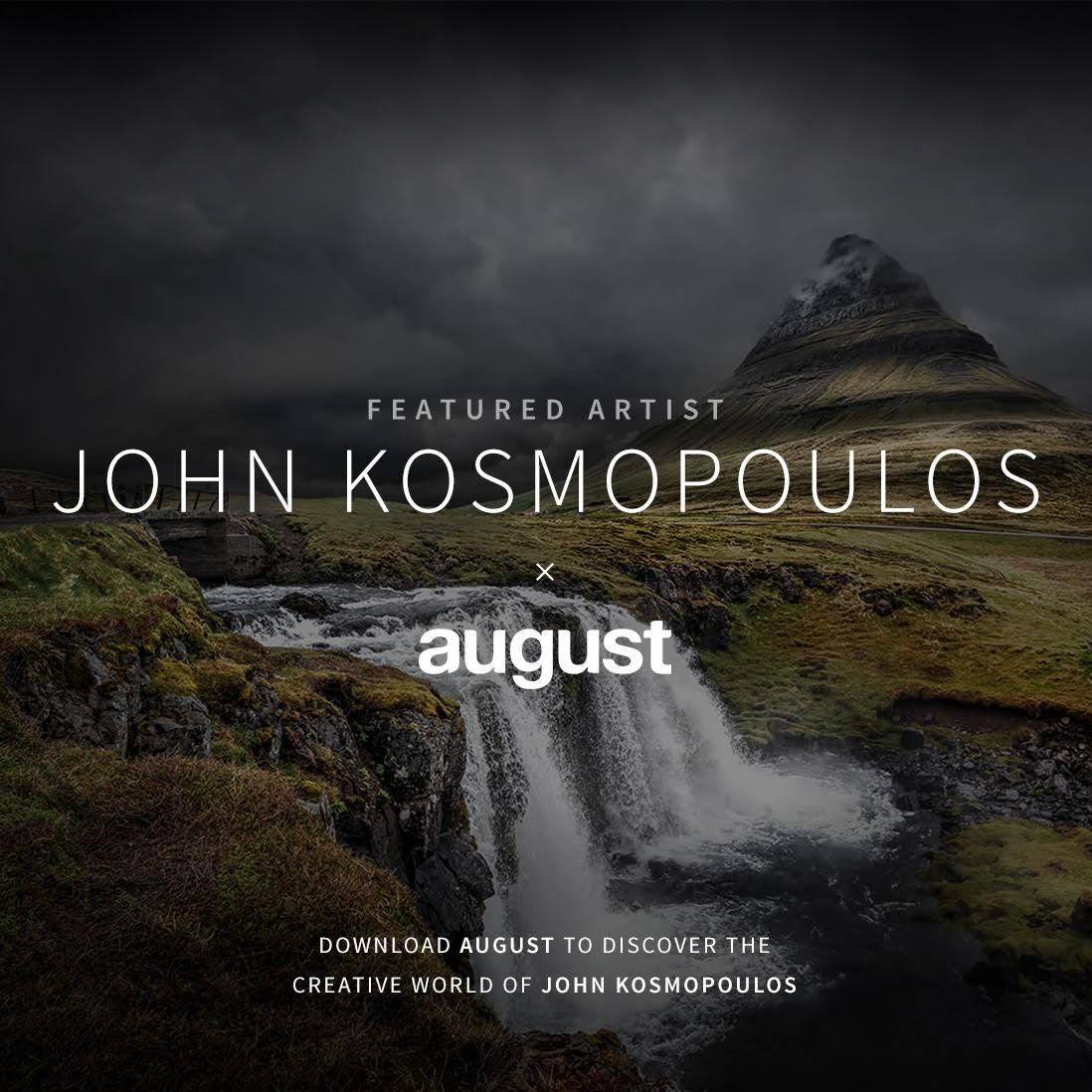 Featured Artist - John Kosmopoulos - August App