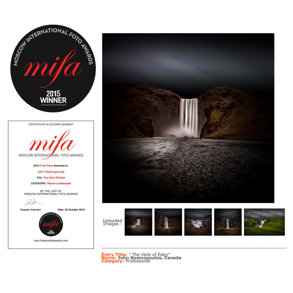 MIFA 2015 - 1st Place - Landscape Category - VoE